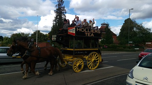 Horse and carriage in Dorking