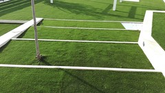 Instalación de césped artificial LIVING GRASS® PLATINUM