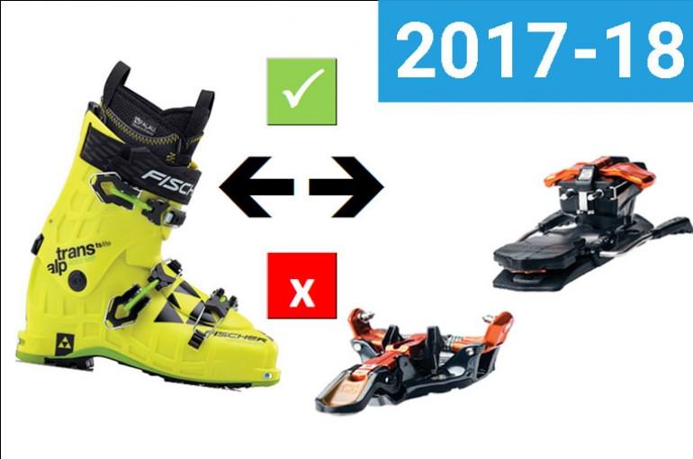 Kompatibilita bot s vázáním 17-18