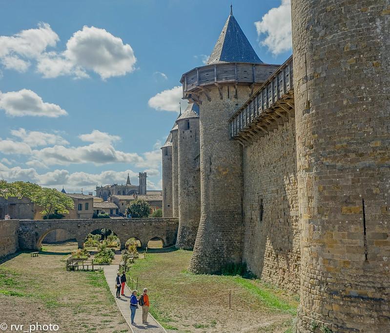 Castillo de Cascassonne, Francia