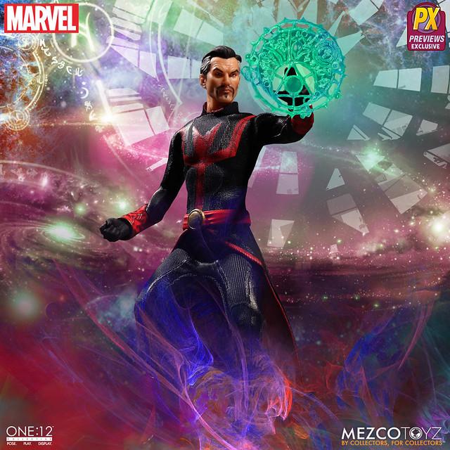 MEZCO ONE:12 COLLECTIVE 系列【奇異博士 捍衛者聯盟服裝Ver.】Defenders Doctor Strange PX限定