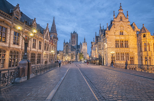 A lovely evening in Ghent