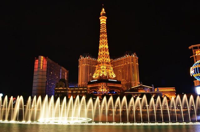Las Vegas: Bellagio Fountain, 07.29.15