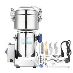 220V Household Electric Bean Food GCoffee Grinder Grinding Machine Grinder Miller Pulverizer (1191434) #Banggood
