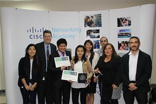 ¡Orgullo USIL! El pasado 19 de octubre, se realizó el Cisco Academy Day 2017, conmemorando los 20 años de la Cisco Networking Academy en el mundo, evento en el cual la Universidad San Ignacio de Loyola, a través de la Carrera de Ingeniería Informática y de Sistemas, recibió un premio por su aporte al incentivo de prácticas socialmente responsables, tanto en el ámbito educativo como institucional.
