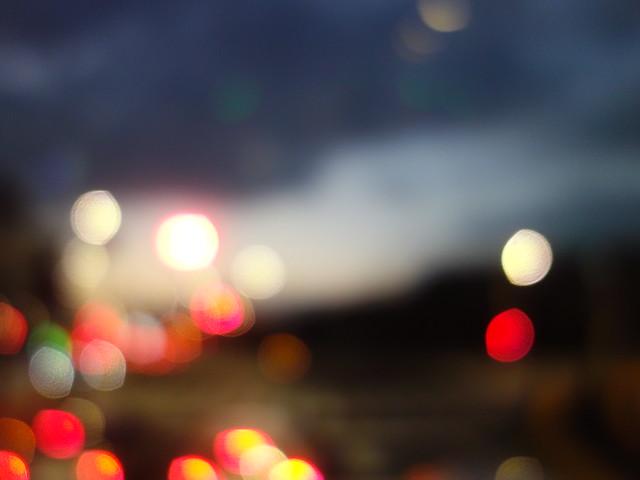 晚上的延平北路