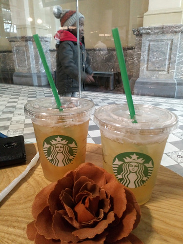 drinks at Starbucks