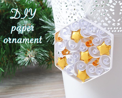 Quilled Paper Ornament Kit