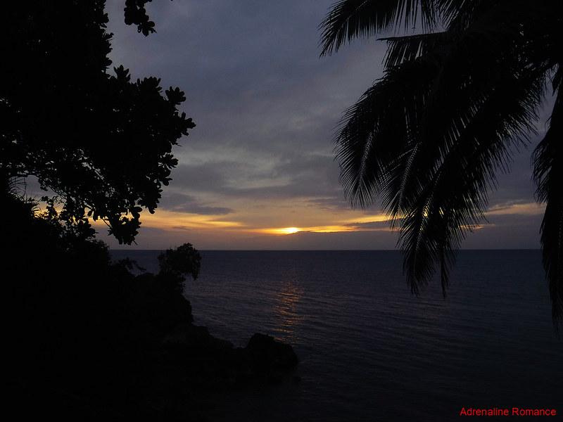 Sunset at Nature's Eye Resort