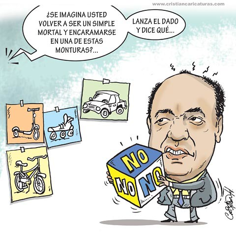 Caricatura Elpidio