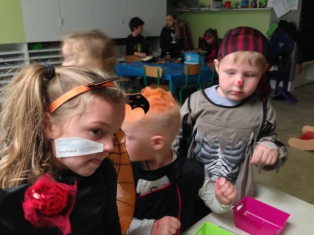 Halloween bij de kleuters