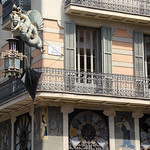 Image of Casa Bruno Cuadros. barcelona barcelone barcellona catalunya cataluña catalonia catalogne katalánsko catalonien katalonien catalogna catalonië katalonia catalunha espagne spain španělsko spanien españa spagna spanje spania hiszpania espanha june2017 architecture