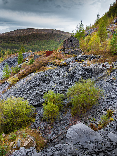Autumn in Hen Gloddfa.