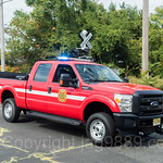 Demarest NJ Fire Department Pickup Truck, 2017 Northern Valley Fire Chiefs Parade, Northvale, New Jersey