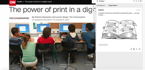 Annotation: Print vs Digital