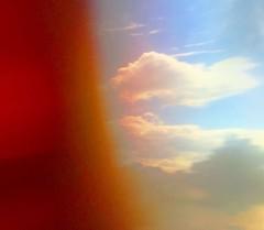 Sunshine, colours, clouds.