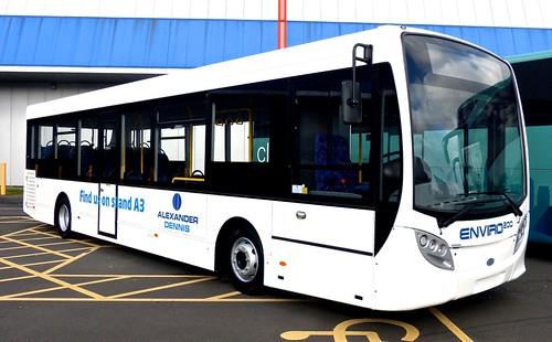 'Coach & Bus UK17' Alexander Dennis Ltd. (ADL) Enviro 200 demonstrator on 'Dennis Basford's railsroadsrunways.blogspot.co.uk'