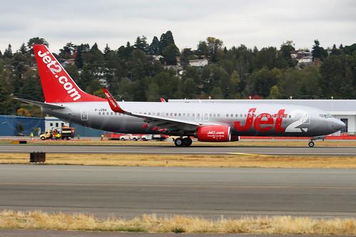 Boeing 737-8MG(WL) Jet2 G-JZBA LN6624