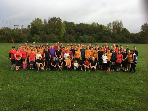 Happy 13th birthday parkrun