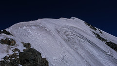 Wysyokość 4550m, do szczytu Tetnuldi 4858m pozostało tylko 300m. Niestety nie tym razem.