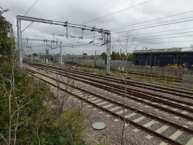 Crossrail works, Old Oak Common