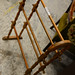 Oak clothes rail E25