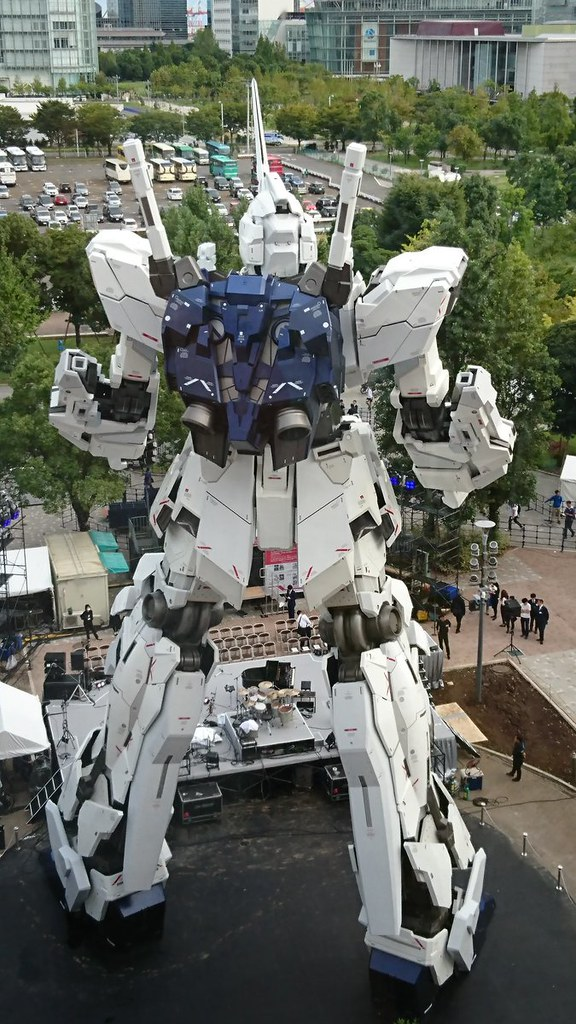 Gundam Unicorn Real life Size Open pubblic