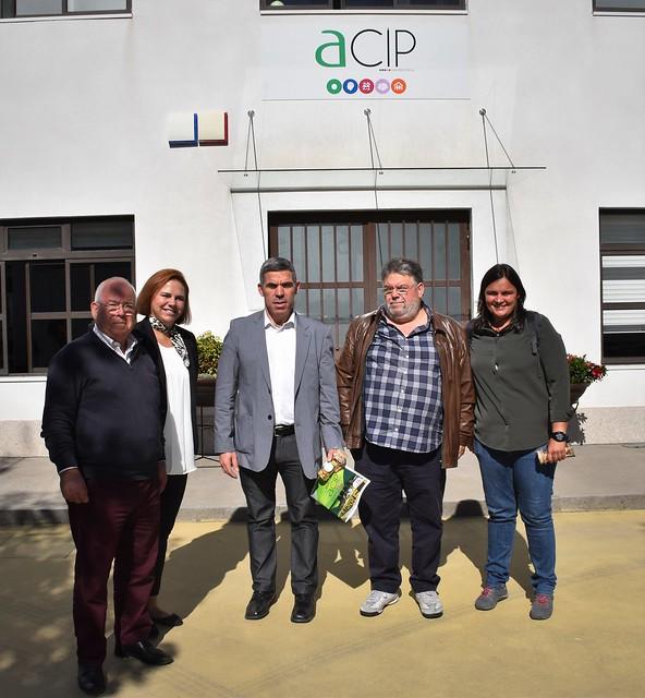 Visita à ACIP de Joane