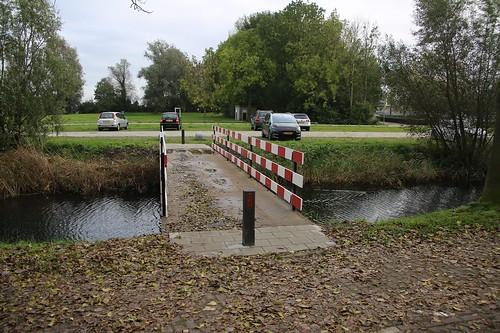 ENKHUIZEN 21 okt Voetgangersbrug Immerhornweg