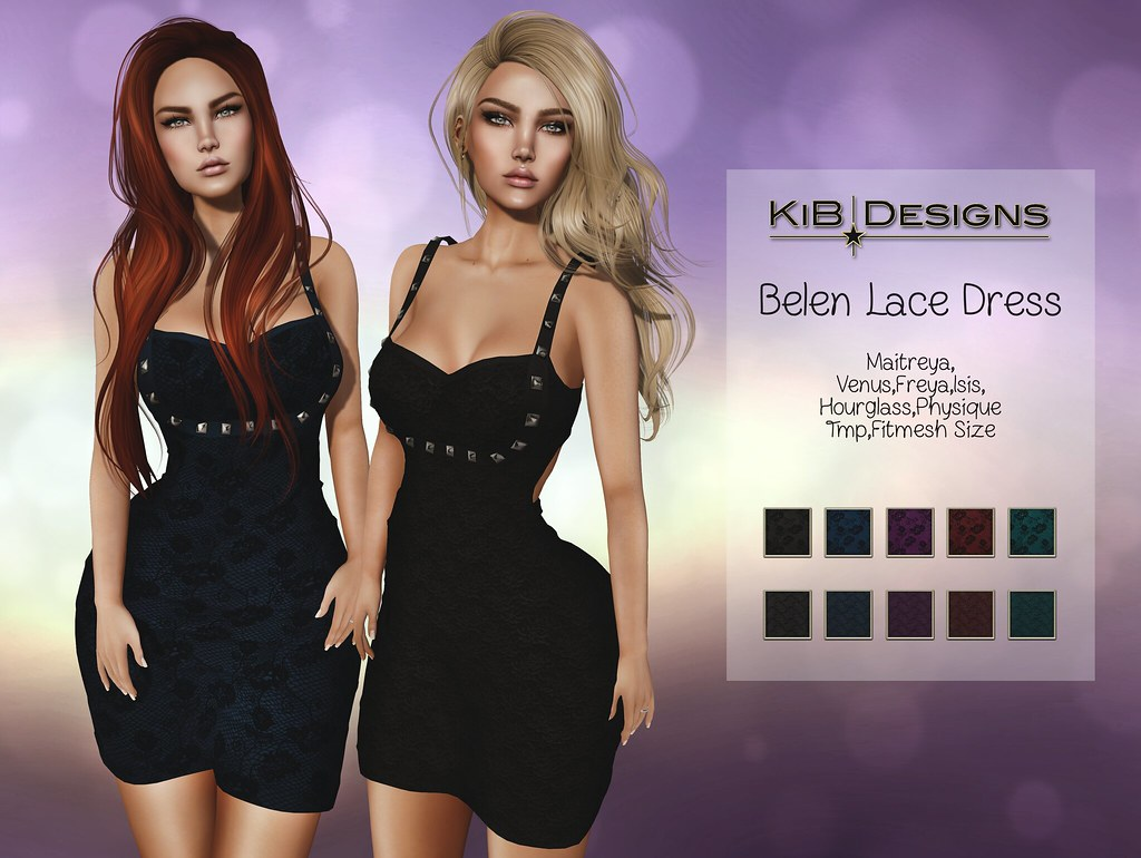 KiB Designs – Belen Lace Dress @Designer Showcase