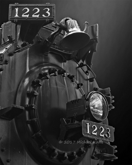 Pere Marquette Engine 1223