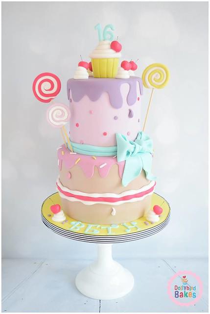Cake by Dollybird Bakes