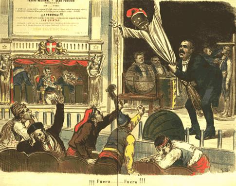 17j11 Enero 1874 La Flaca, revista satírica, analiza la rendición del Cantón de Cartagena Uti 485