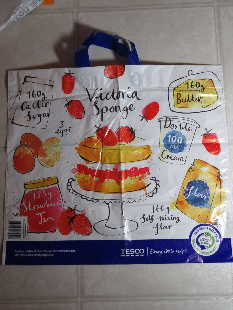 TESCO Bag | The 'big bag project' for documenting retail bag
