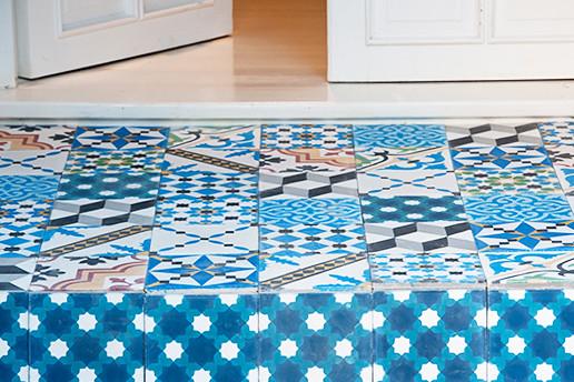 17 Neville Trickett azulejos