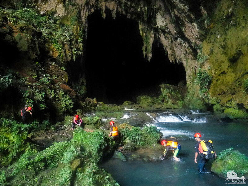 Getting inside Sulpan Cave
