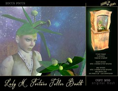 Lilith's Den - Lady M Fortune Teller Booth