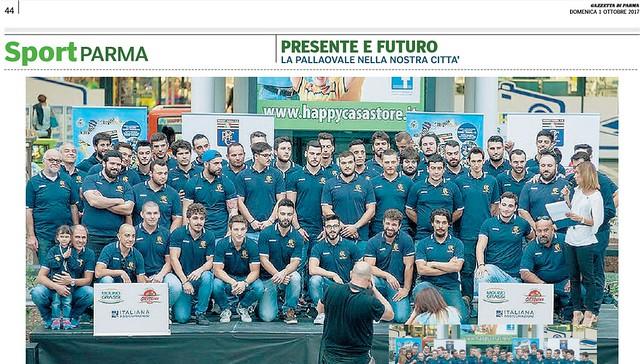 Presentazione stagione 2017/18 al Parma Retail