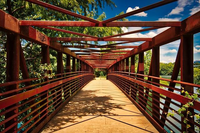 Town Lake Trail Bridge, Austin TX