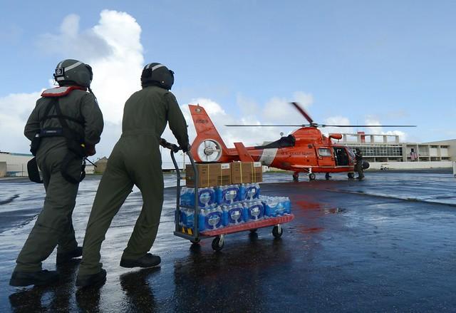 Coast Guard Delivers FEMA Food, Water to Jayuya, Puerto Rico