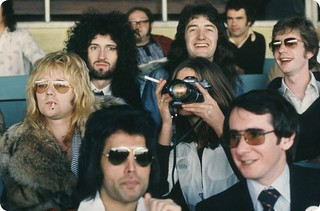 Queen @ Kempton Park - 1976