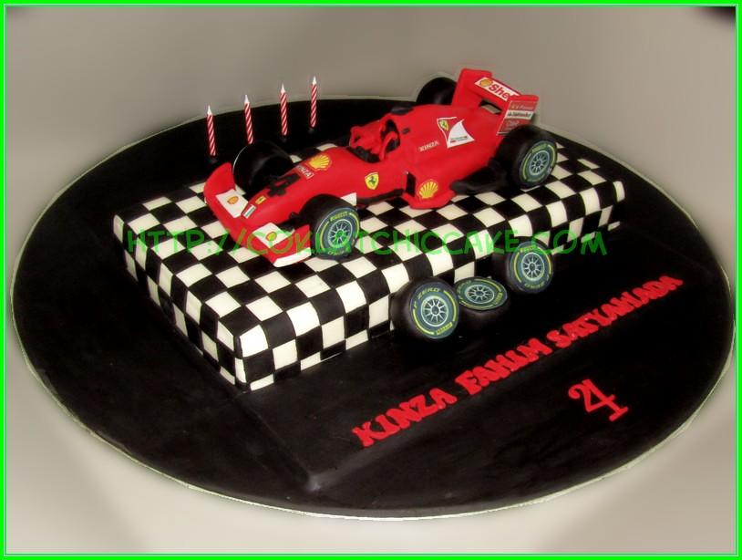 cake F1 Ferrari KINZA