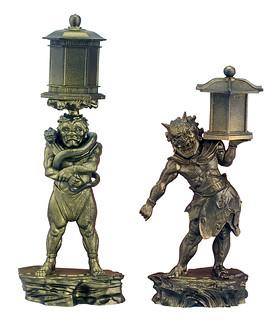 日本國寶完全重現!「運慶的繼承」 – 康弁作 天燈鬼・龍燈鬼立像 –