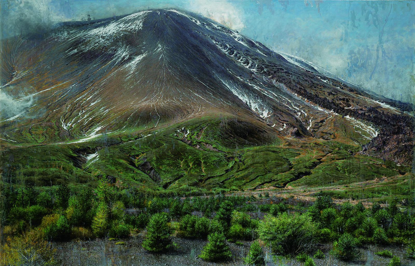 水野暁《The Volcano-大地と距離について/浅間山-》(2012-16年)