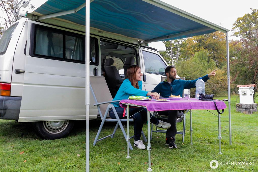 Viajar en furgoneta camper por España