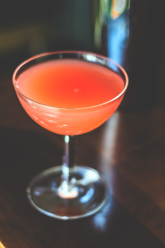 Papageno cocktail, light aperitif with grappa vermouth and bergamot