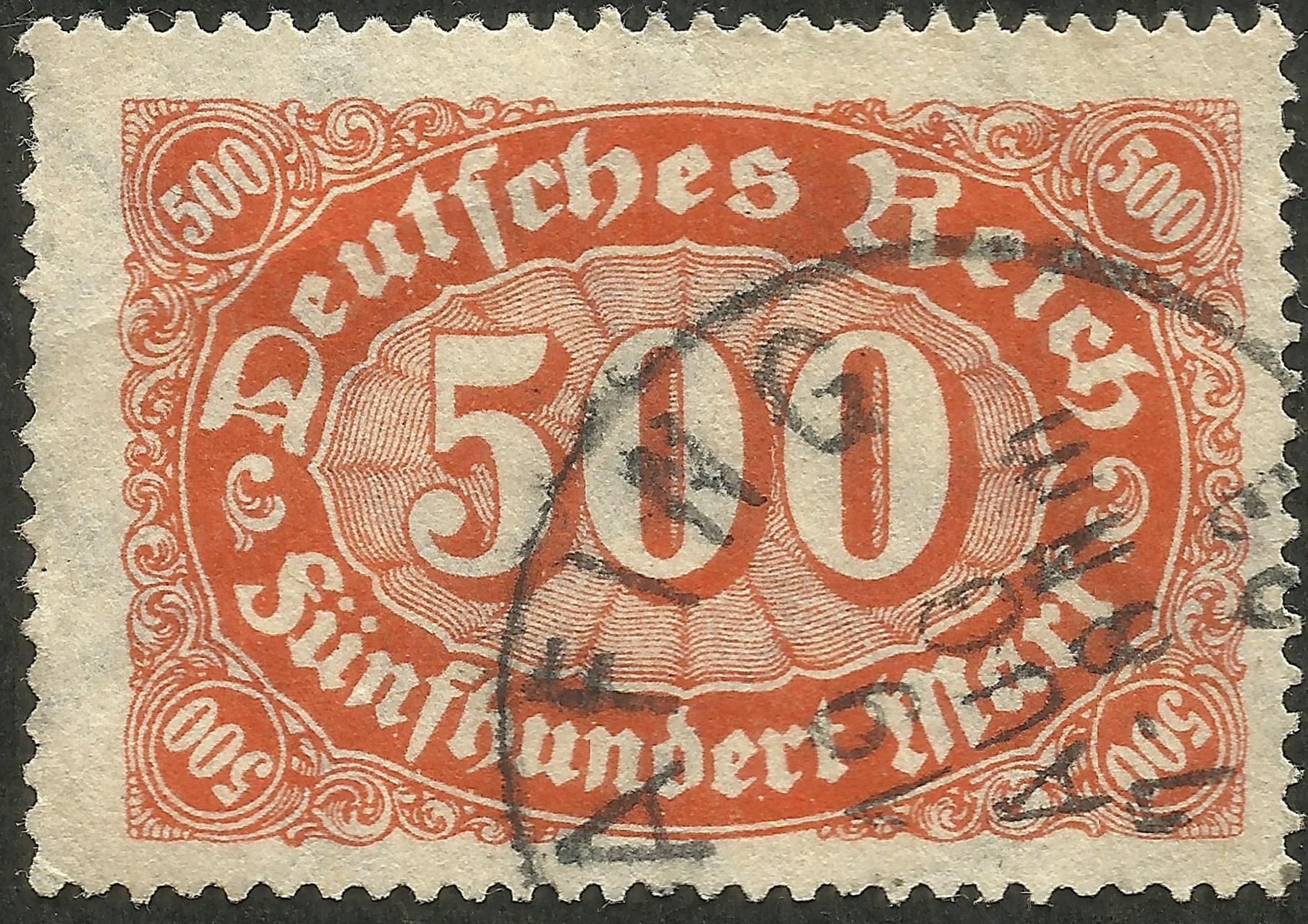 Germany - Scott #203 (1923)