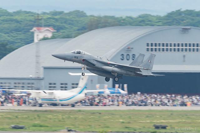 JASDF Chitose AB Airshow 2017 (35) 203SQ F-15J #905