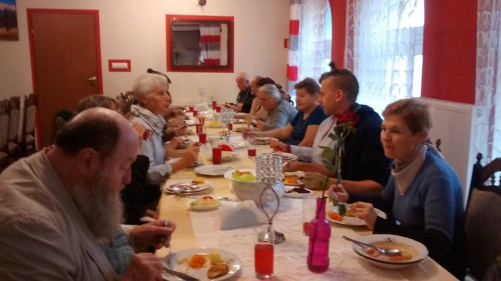 Obiad w Defce