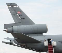 Tail of McDonnell Douglas KC-10 Extender (91948)